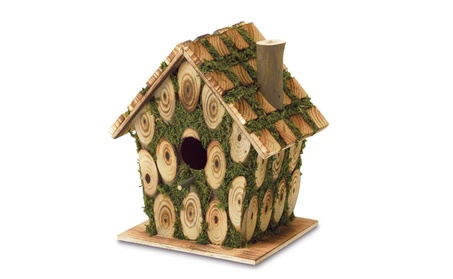 Adorable Moss Bird House (Goods Outdoor Décor Bird Feeders & Baths) photo