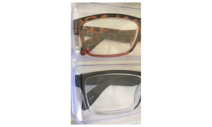 806d41ab1b4 Steve Madden Two Tone Fashion Reading Glasses 3 Pack +2.50 Readers ...