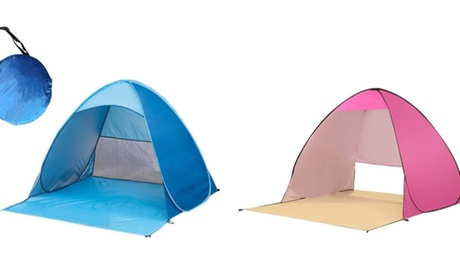Portable Beach Tent Pop up Sun Shelter Instant Tent