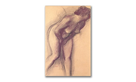 Edgar Degas 'Female Standing Nude' Canvas Art 40069971-529b-432c-95e6-588b5b4364f1