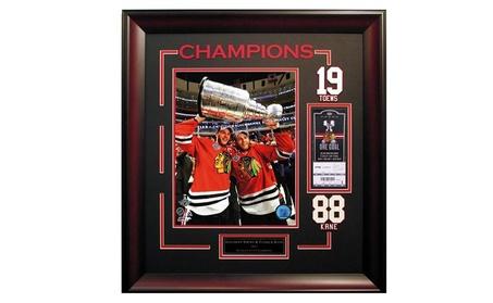 Jonathan Toews Patrick Kane Chicago Blackhawks 2015 Stanley Cup Frame 9e4a8924-dd7b-4c0b-b927-0b8d0162af23