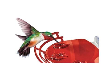Durable Window Hummingbird Feeder (Goods For The Home Patio & Garden Bird Feeders & Food) photo