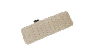 Comfort Products 60-2907P08X 10-Motor Massage Plush Mat with Heat & Extra Foam -