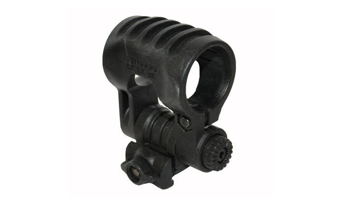 FAB Defense 10 Position Adjustable Tactical Light Mount Blk