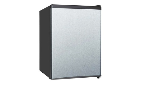Sunpentown 2.4 cu. ft. Compact Refrigerator in Stainless - Energy Star 8437c0b5-ee40-4954-83f9-4f0948437efc