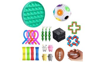 Fidget Toys Set -- 22 Pcs Stress Relief and Anti-Anxiety Toys
