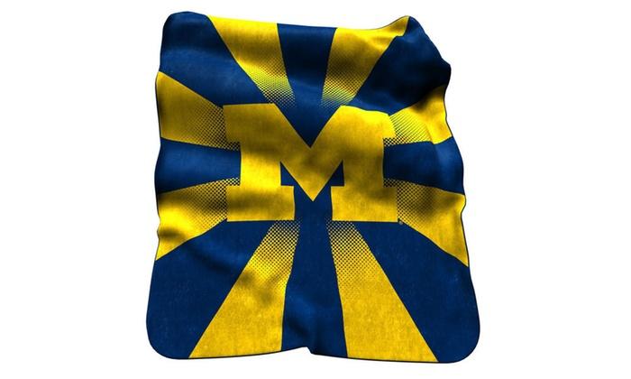 Michigan Raschel Throw