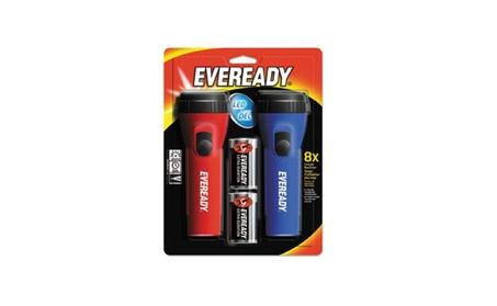Eveready Battery EVEL152S Flashlight, LED, Econ, Pack - 2 fc5da747-490a-4c7f-b96f-357424590742
