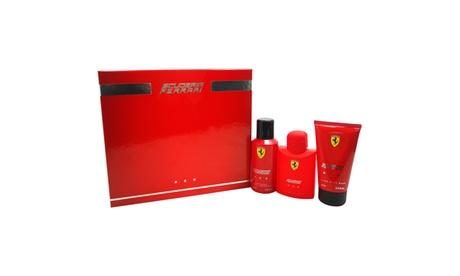 Ferrari Ferrari Red 4.2oz EDT Spray, 5oz Hair and Body Wash, 5oz Deodorant Spray 54373bbc-c03c-49e8-afe4-8293b65e4d7d