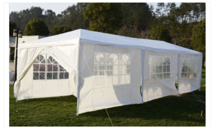 10u0027x30u0027Outdoor Canopy Party Wedding Tent & 10u0027x30u0027Outdoor Canopy Party Wedding Tent | Groupon