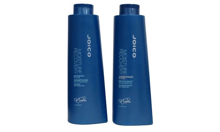 Joico - Moisture Recovery Shampoo and Conditioner Liter Duo