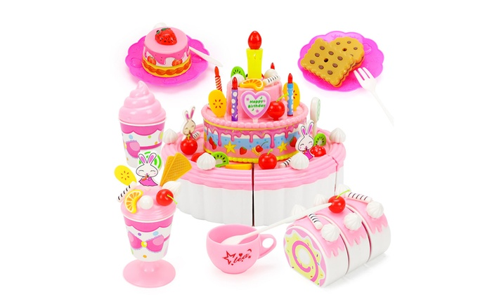 Magnificent Up To 44 Off On Pretend Play Food Dessert Set Groupon Goods Funny Birthday Cards Online Eattedamsfinfo