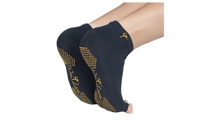 Wai Lana Yogi Feet Black w/ Gold