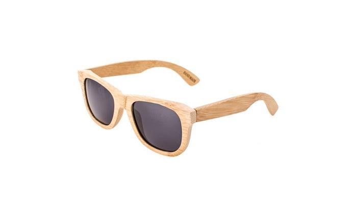 Bamboo Wooden Sunglasses Polarized Lens - Ziba Wood
