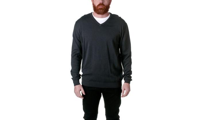 Republic Cotton Solid V-Neck Sweater AF2001-3