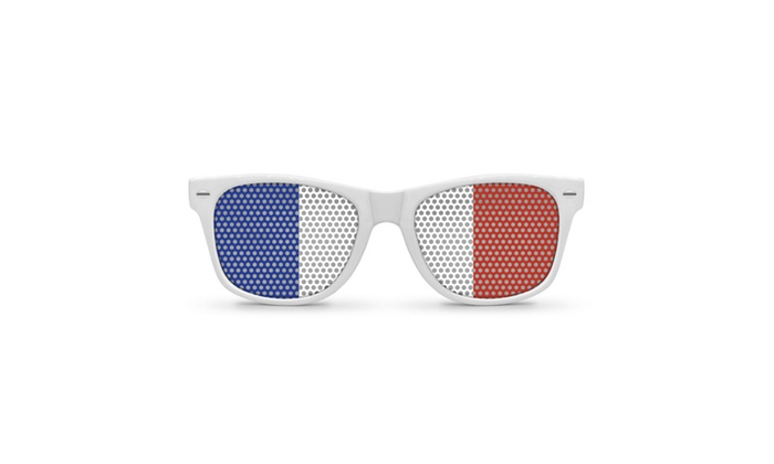 Flag Retro Party Sunglasses