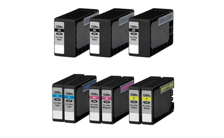 9-Pack CANON PGI-1200 XL 1200XL High Yield Ink Cartridges 57d499a9-19fc-4e66-bfd5-fcd1df0887cf
