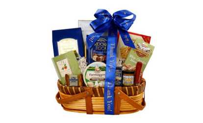 Gourmet gifts deals coupons groupon image placeholder image for alder creek gift baskets gourmet thank you greetings gift basket negle Image collections