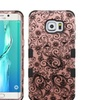 Insten Four Leaf Shockproof Silicone Case For Galaxy S6 Edge Plus
