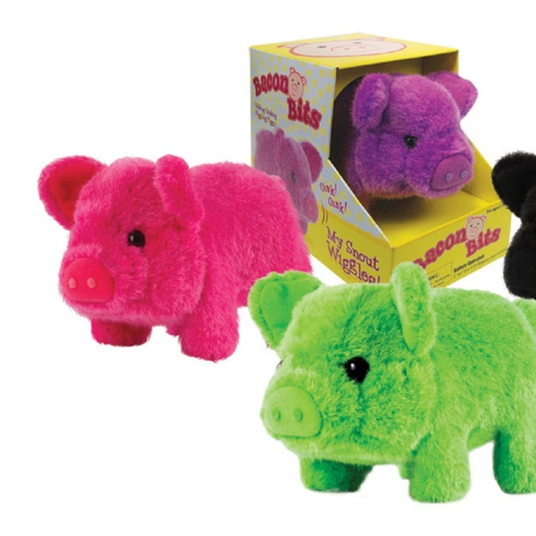 Westminster Bacon Bits Battery Operated Mechanical Pig