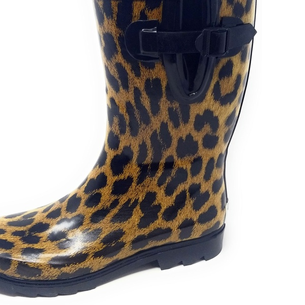 Womens Waterproof Rain Boots Rainboots Yellow Shoes Wellie B