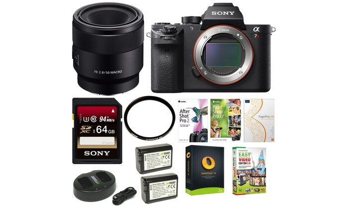 Up To 42% Off on Sony a7R II Full-Frame Mirror... | Groupon Goods