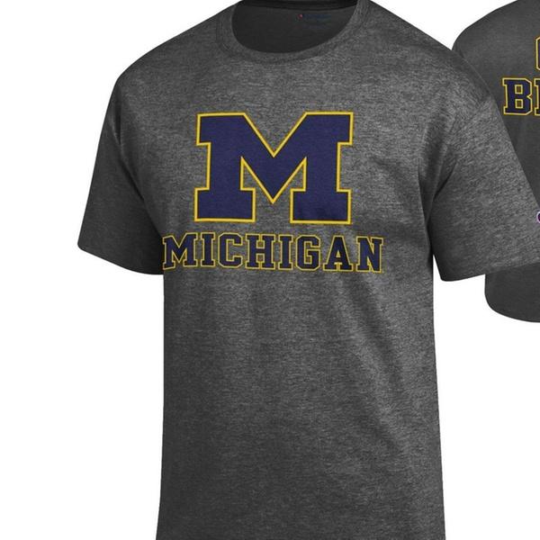 Elite Fan Shop NCAA Mens T Shirt Dark Heather Back