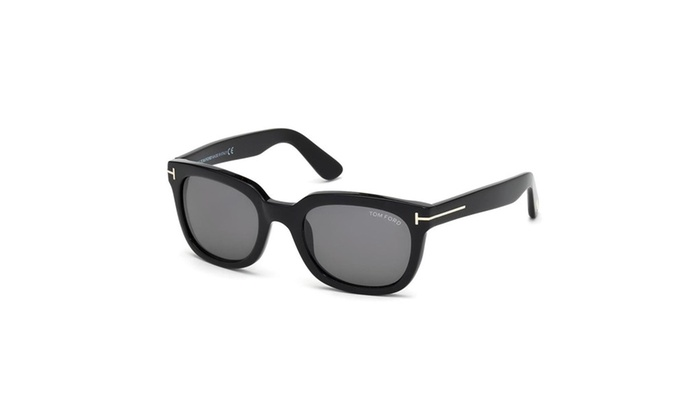 81bef76a40b Tom Ford Tf 198 01a Campbell Black Sunglasses