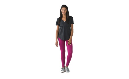 Lululemon Seamless High Rise Yoga Zone In Tight Pant Raspberry Pink 7699140c-828d-4b56-97bc-e2aa34933f07