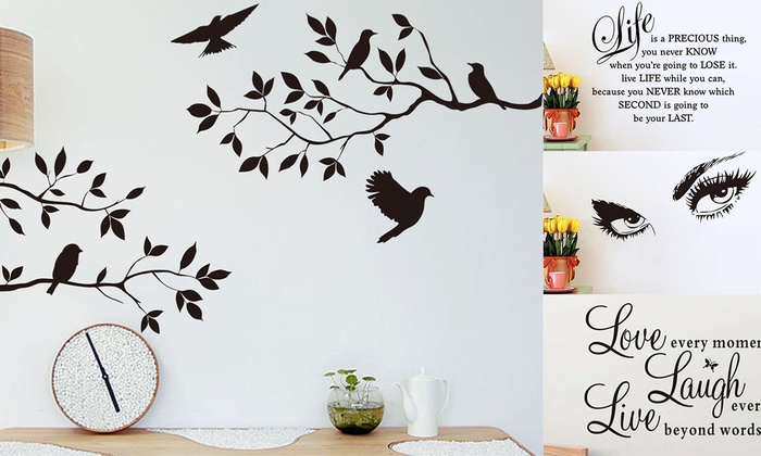 Vinyl Home Room Decor Art Quote Wall Decal Stickers Bedroom Removable Mural DIY~