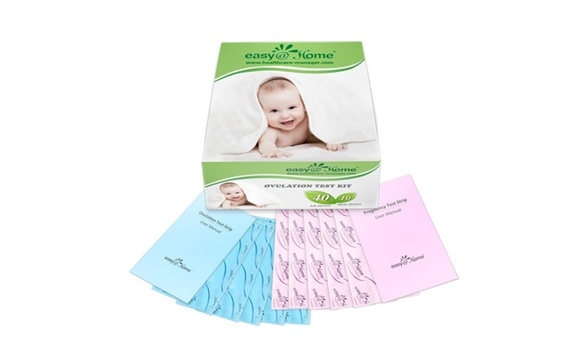 Easy Home 40 Ovulation Test Strip And 10 Pregnancy Test Strip Kit