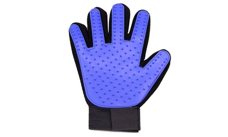 Pet Grooming Glove Dog Cat Massage Gloves De-Shedding Brush Glove 3cdd8c95-bc8c-4a5a-8a1f-b730253f85ad