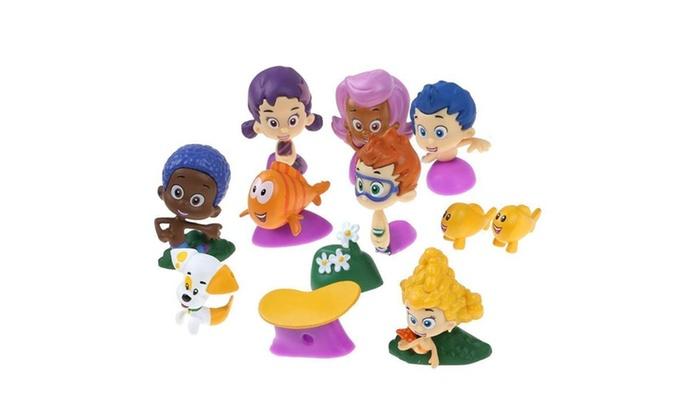 . Action Figure Gil Molly Nonny Vinyl Deema Collectible Bubble Guppies