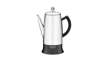 Cuisinart PRC-12FR Classic Stainless Percolator, Stainless Refurbished 981d48df-f5a8-4fc7-a2af-cd7698c07952