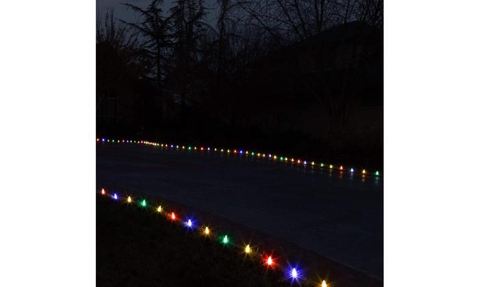 "Holiday Lighting Outlet Christmas Light StakesUniversal 5/"" Outdoor Light"
