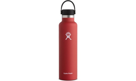 Vacuum Insulated Standard Mouth 24oz Stainless Steel Water Bottle with Flex Cap 535b4214-dc22-4f6d-bd79-b97107c9488d