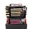 Makeup Bag & 5 Piece Brush Set