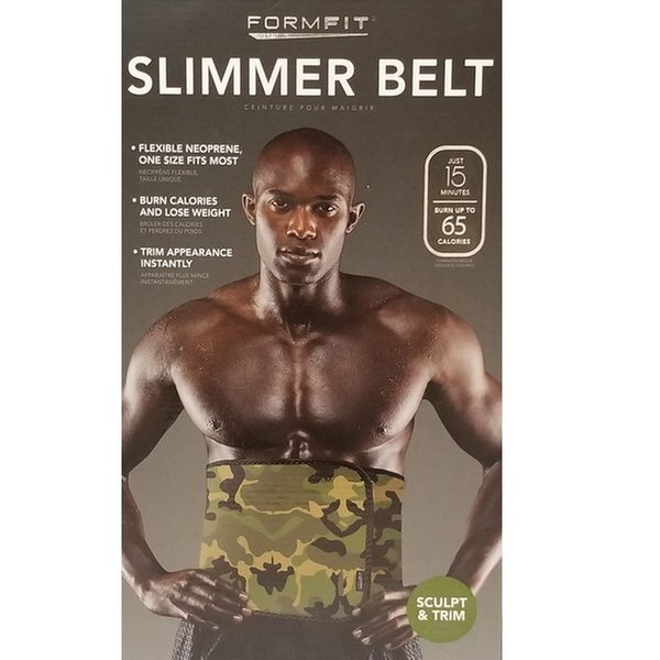 One Size Fits All! Formfit Waist Trimmer All Black