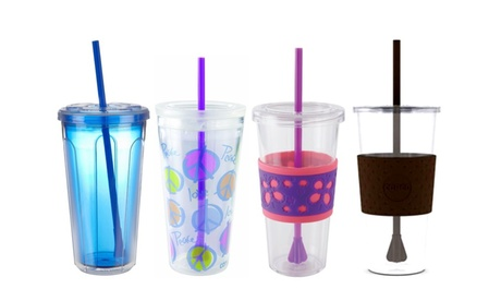 Copco 24oz. Cold Drink Tumbler with Straw 116359ae-7975-4cc8-b0ad-31a52f5f461f