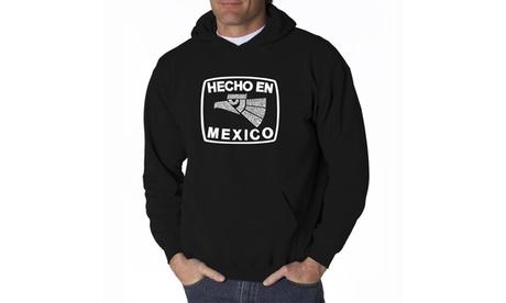 Men's Hooded Sweatshirt - HECHO EN MEXICO b484f480-096e-4520-ab79-1c60444dccac