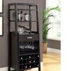 Contemporary Ladder-Style Home Bar