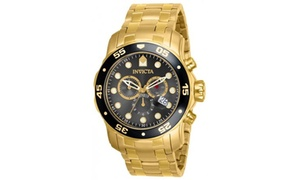 Invicta Invicta Men's 80064 Pro Diver Quartz Chronograph Charcoal Dial Watch