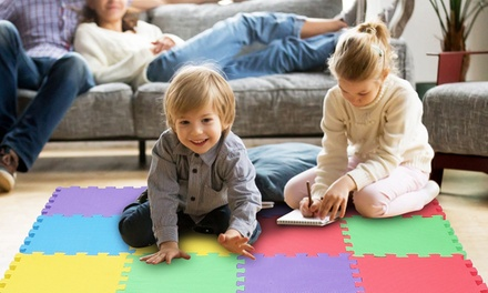 iMounTEK Kids' Puzzle Exercise Play Mat, Interlocking, Non-Toxic, EVA Floor Mat