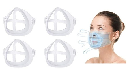 3D Face Mask Bracket Internal Support Frame Help Improve Comfort Breathing Space