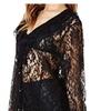 Women's Long Sleeve Fashion V Neck Slim Fit Blouse