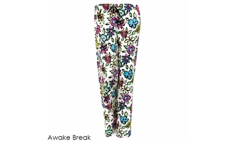 Women Stretchable Lounge Wear Pants 6 Styles