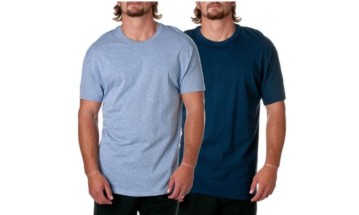 Hanes Mens ComfortSoft Undershirt Tees 2-Pack D