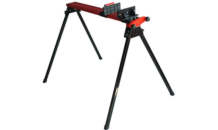 Speedway Folding Metal Sawhorse with Clamp