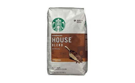 Starbucks House Blend Whole Bean Coffee - 32oz. 046e8561-114c-407f-aa43-ec85bc3a2f92