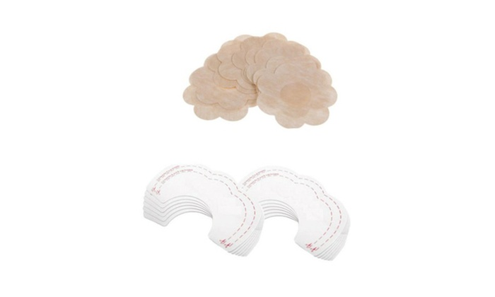 48980f23f 10pcs Instant Breast Lift Bra Tape With Nipple Cover Pad Pasties ...